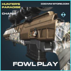Fowl Play charm rare call of duty modern warfare warzone item