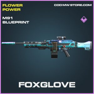Foxglove M91 epic skin blueprint call of duty modern warfare warzone item