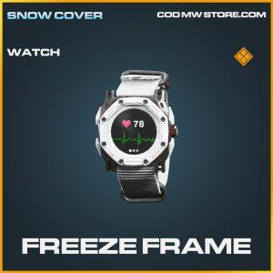 Freeze Frame watch legendary call of duty modern warfare warzone item