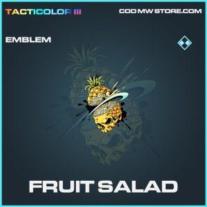 Fruit Salad emblem rare call of duty modern warfare warzone item