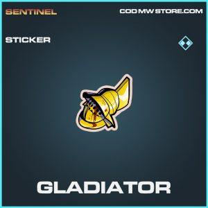Gladiator sticker rare call of duty modern warfare warzone item