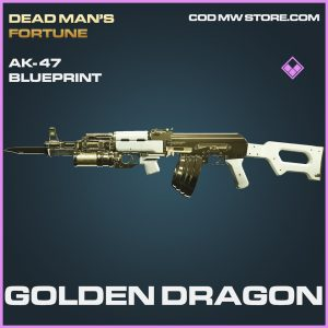 Golden Dragon Ak-47 skin epic blueprint call of duty modern warfare warzone item