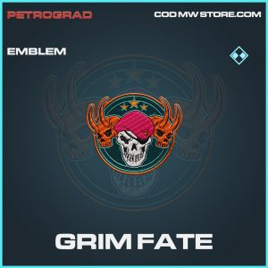 Grim Fate emblem rare call of duty modern warfare warzone item