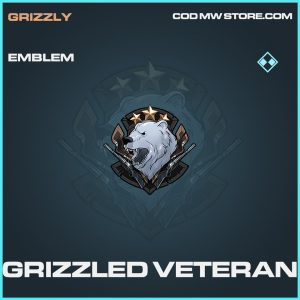 Grizzled Veteran rare emblem call of duty modern warfare warzone item