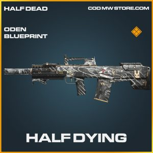 Half Dying oden skin legendary blueprint call of duty modern warfare warzone item