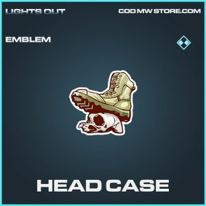 Head Case emblem rare call of duty modern warfare warzone item