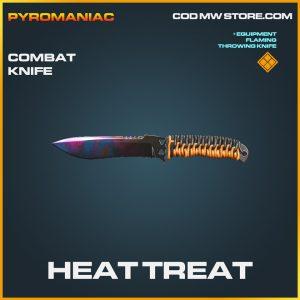 Heat Treat combat knife legendary call of duty modern warfare warzone item