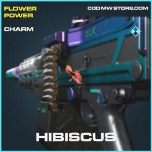 Hibiscus rare charm call of duty modern warfare warzone item