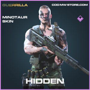 Hidden minotaur skin epic call of duty modern warfare warzone item