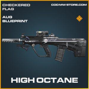 High Octane aug skin legendary blueprint call of duty modern warfare warzone item