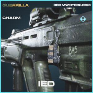 IED charm rare call of duty modern warfare warzone item