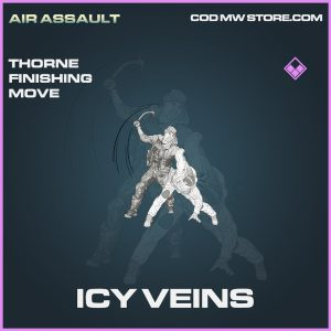 Icy Veins Thorne finishing move epic call of duty modern warfare warzone item