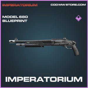Impoeratorium model 680 skin epic blueprint call of duty modern warfare warzone item