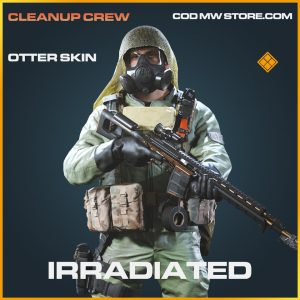 Irradiated otter skin legendary call of duty modern warfare warzone item