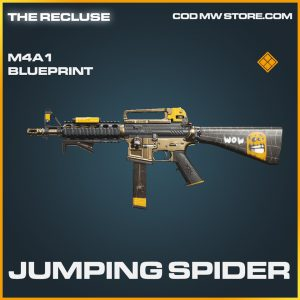 Jumping Spider M4A1 skin legendary blueprint call of duty modern warfare warzone item