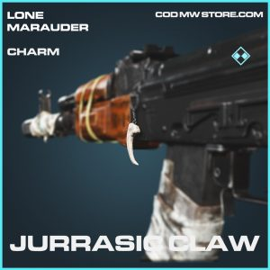 Jurrasic Claw charm rare call of duty modern warfare warzone item