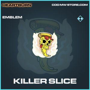 Killer Slice rare emblem call of duty modern warfare warzone item