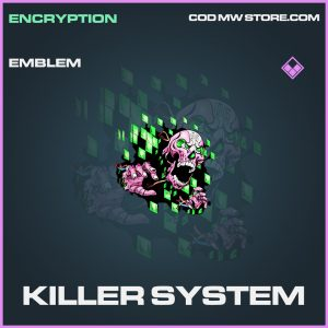 Killer System emblem epic call of duty modern warfare warzone item