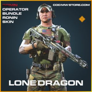 Lone Dragon ronin skin legendary call of duty modern warfare warzone item