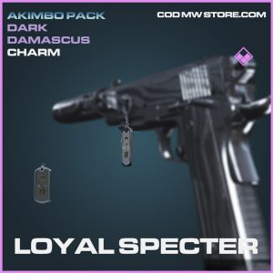 Loyal Specter charm epic call of duty modern warfare warzone item