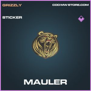 Mauler sticker epic call of duty modern warfare warzone item