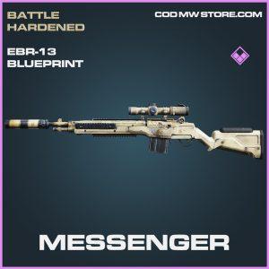 Messenger EBR-13 skin epic blueprint call of duty modern warfare warzone item