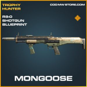 Mongoose R9-0 Shotgun skin legendary blueprint call of duty modern warfare warzone item