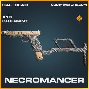 Necromancer X16 skin legendary blueprint call of duty modern warfare warzone item
