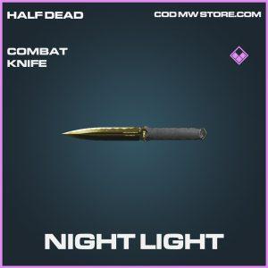 Night Life combat knife call of duty modern warfare warzone item