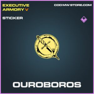 Ouroboros sticker epic call of duty modern warfare warzone item