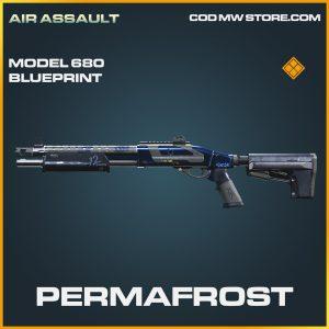 Permafrost model 680 skin legendary blueprint call of duty modern warfare warzone item