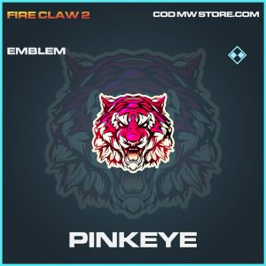 Pinkeye emblem rare call of duty modern warfare warzone item