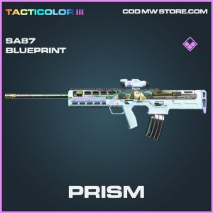 Prism SA87 epic skin blueprint call of duty modern warfare warzone item