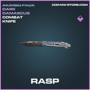 Rasp combat knife epic call of duty modern warfare warzone item