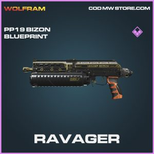 Ravager PP19 Bizon rare blueprint call of duty modern warfare warzone item