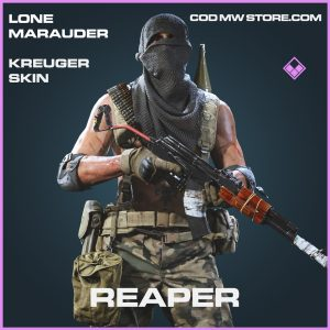 Reaper kreuger skin epic call of duty modern warfare warzone item