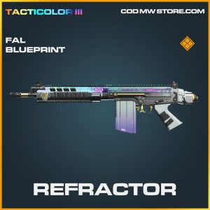 Refractor FAL skin legendary blueprint call of duty modern warfare warzone item