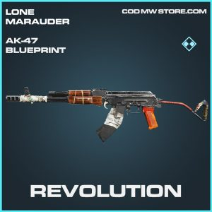 Revolution AK-47 skin rare blueprint call of duty modern warfare warzone item