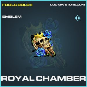 Royal Chamber rare emblem call of duty modern warfare warzone item