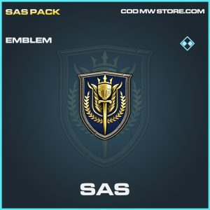 SAS rare emblem call of duty modern warfare warzone item
