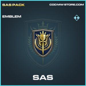 SAS rare emblem call of duty modern warfare warzone item