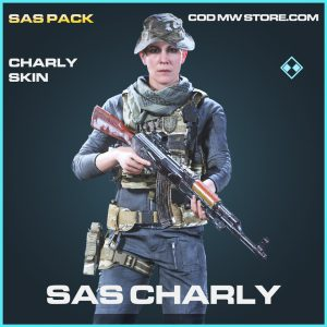 SAS CHarly skin rare call of duty modern warfare warzone item