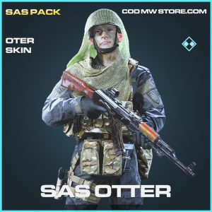 SAS Otter skin rare call of duty modern warfare warzone item