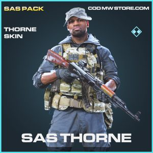 SAS Thorne skin rare call of duty modern warfare warzone item
