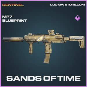Sands of time MP7 skin epic blueprint call of duty modern warfare warzone item