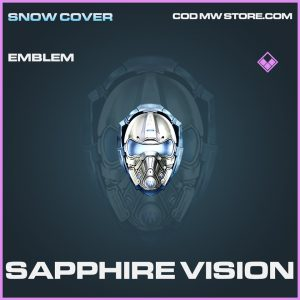 Sapphire Vision emblem epic call of duty modern warfare warzone item