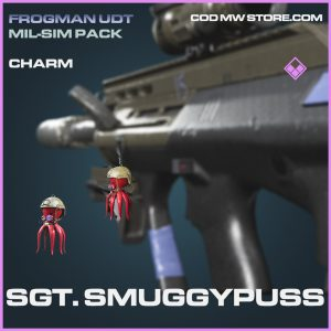 Sgt. Smuggypuss charm epic call of duty modern warfare warzone item