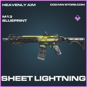 Sheet Lightning m13 skin epic blueprint call of duty modern warfare warzone item