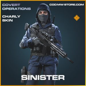 Sinister charly skin legendary call of duty modern warfare warzone item
