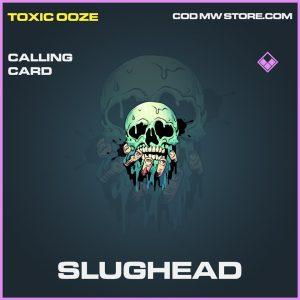 Slughead calling card epic call of duty modern warfare warzone item